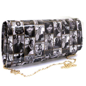 The Presidential Clutch - Black and White