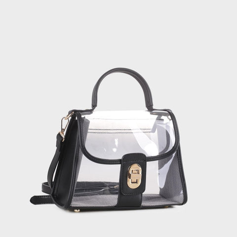 Clear The Air Satchel - Black