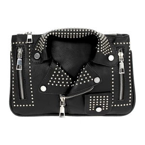 GRAB MY STUDDED OUT BIKER JACKET