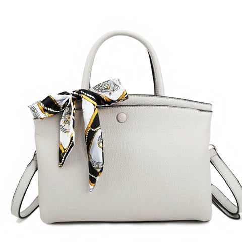 SCARF ME DOWN BAG - GRAY