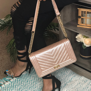 Jessica Bag - Rose Gold