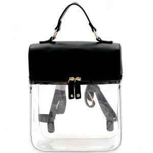 Clear The Air Backpack - Black