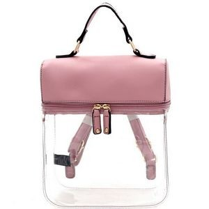 Clear The Air Backpack - Mauve