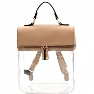 Clear The Air Backpack - Taupe