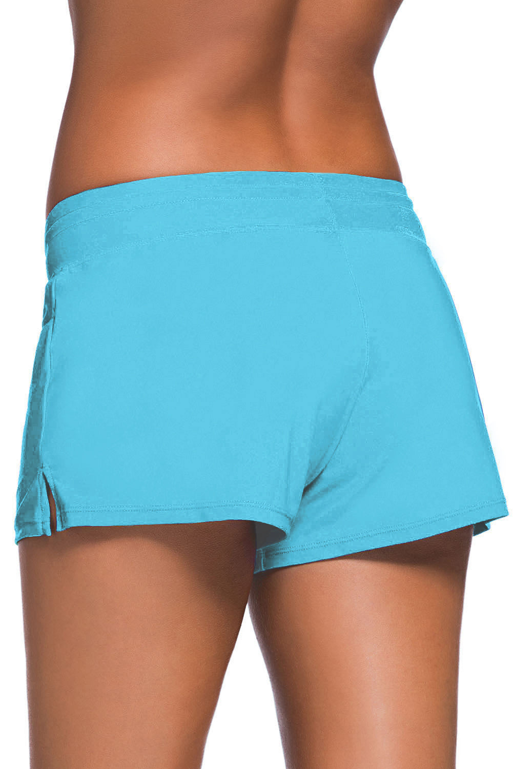 Light Blue Women Swim Boardshort
