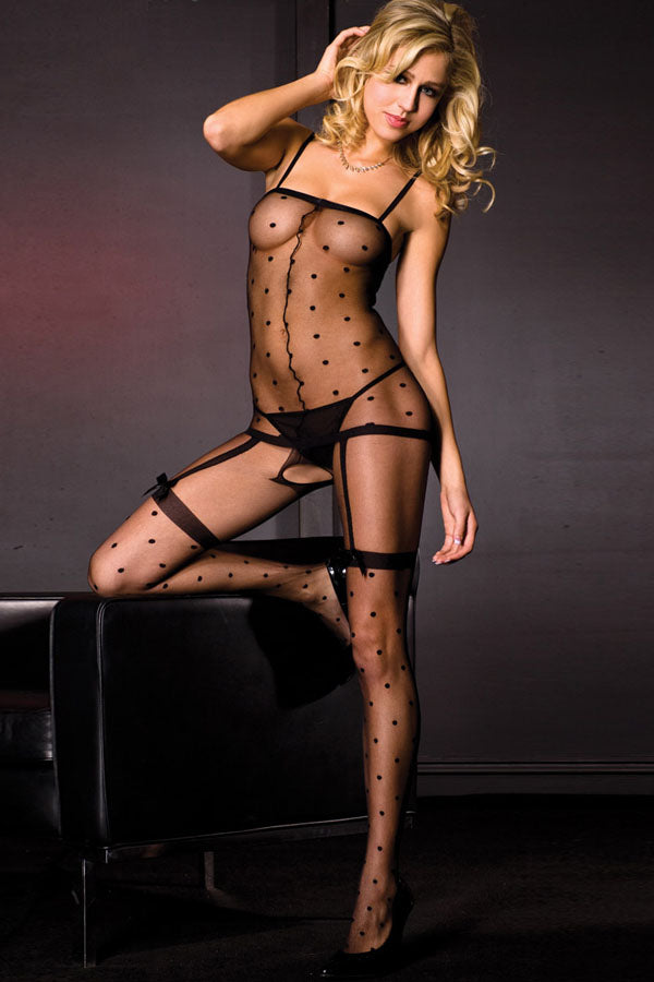 Polka Dot Bodystockings