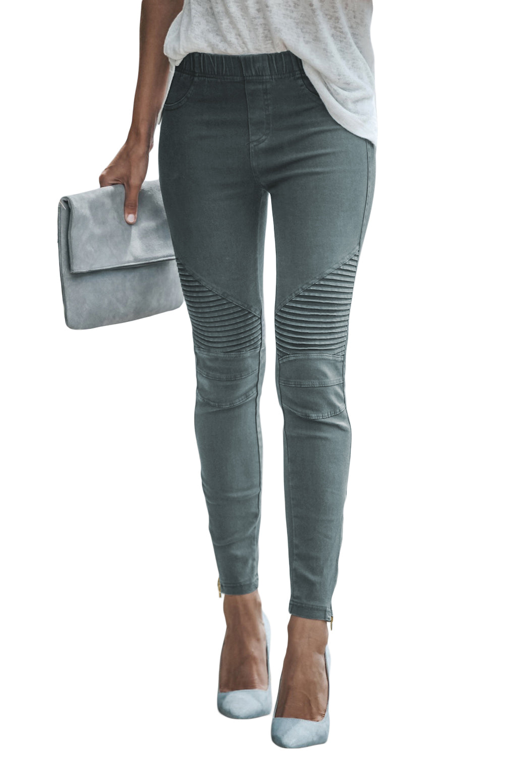 Sage Green Piper Jeggings