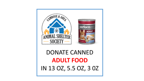 Donate Canned Adult Food