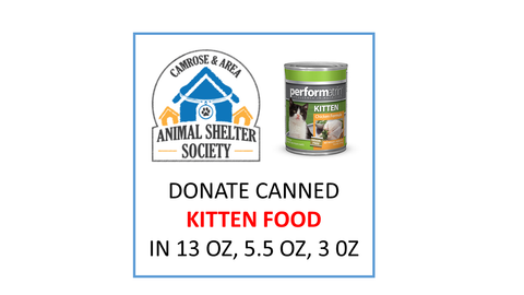 Donate Canned Kitten Food
