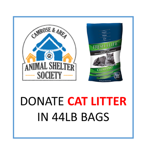 Donate Cat Litter