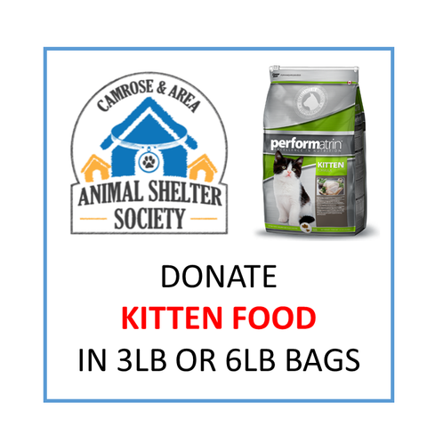 Donate Kitten Food