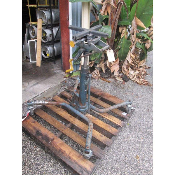 1/4 Ton Capacity Transmission Jack Hoist 500LBS Foot Operated Hydraulic Shop - Other