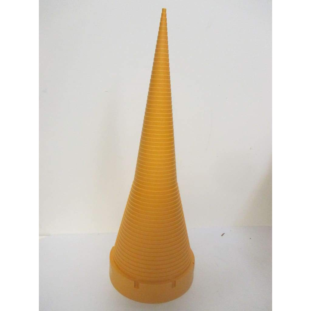 17-1/2 Tall Yellow Plastic O-Ring Sizing Cone Measuring Tool Standard Chart - Parts
