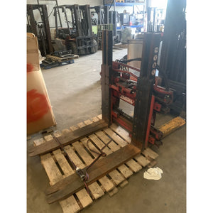 Bolzoni Sideshifting Single Double Pallet Handler Forklift Attachment 5500lbs. - Attachments