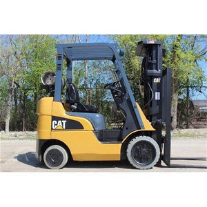 Caterpillar C4000-LP 4000 lbs LPG Sit-Down Forklift w/ Sideshift & Cushion 188H - Forklifts