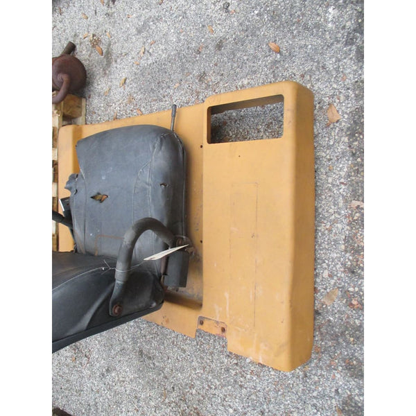 Caterpillar T40D 4000Lbs Forklift Passenger Seat & Engine Cover Seat Bracket - Parts