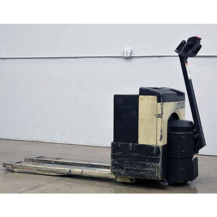Crown 40GPW-21 24V 4000LBS Walk Behind Electric Pallet Power Jack - Forklifts