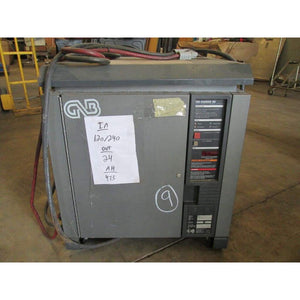 GNB 24V Electric Forklift Battery Charger 475AH 120/240 1ph - Chargers