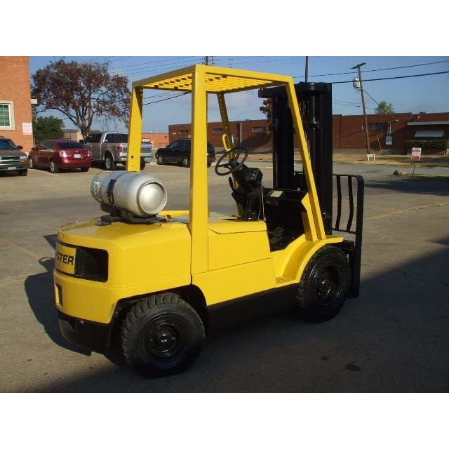 Hyster H60XM 6000 lbs LPG Forklift w/ Sideshift 181H Triple Mast - Forklifts