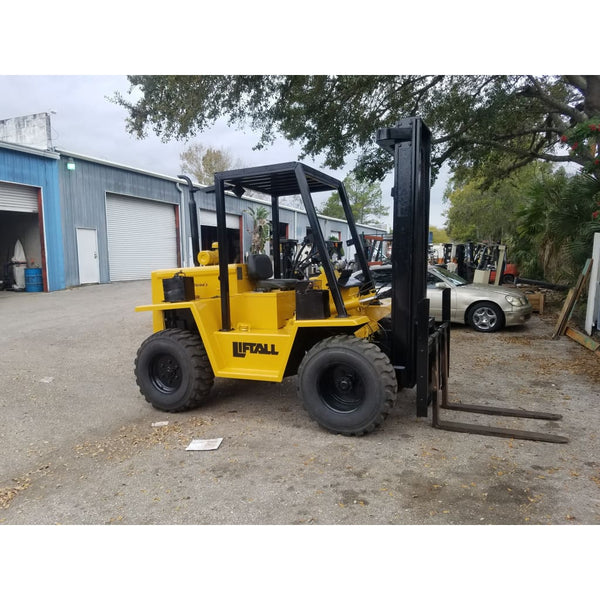 Lion Liftall FWD-60 6000LBS Diesel Forklift w/ Pneumatic Tires - Forklifts