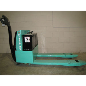 Mitsubishi PMW20 4000 lb. Electric Pallet Jack 24v NEW BATTERIES - Forklifts