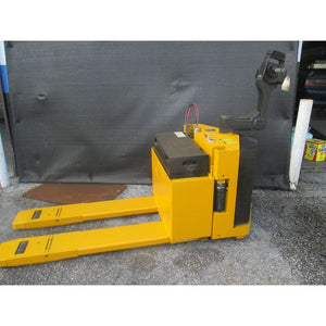 Pettibone Mercury PPW-H-6024 Electric 24V Battery Pallet Jack 6000LBS WORKS GOOD - Forklifts