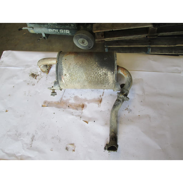 Toyota Muffler And Exhaust Pipe - Parts