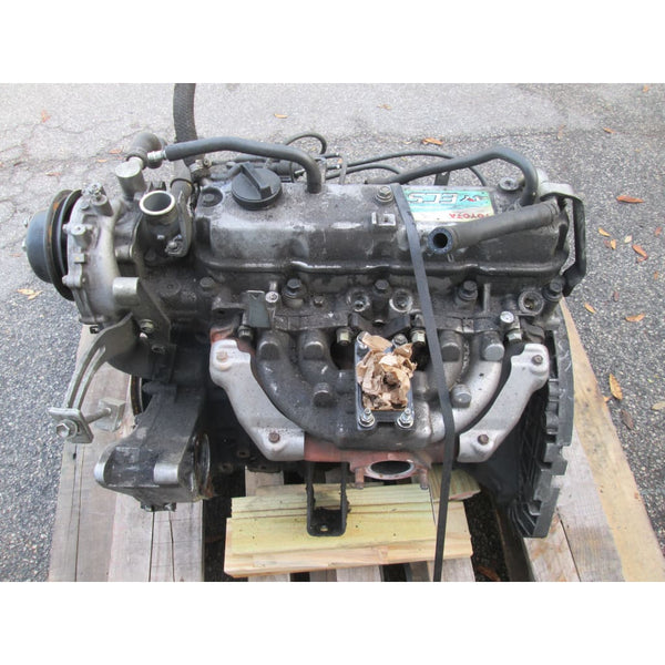 Used Toyota 4Y-ECS LPG Forklift Engine No Core - Parts
