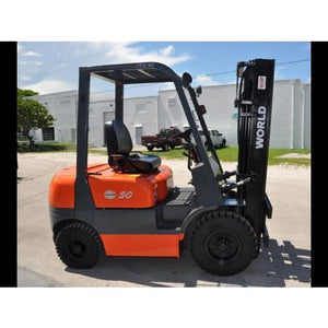 World Lift WFD50 5000LB Diesel Forklift w/ Sideshift 189H Pneumatic Tires - Forklifts