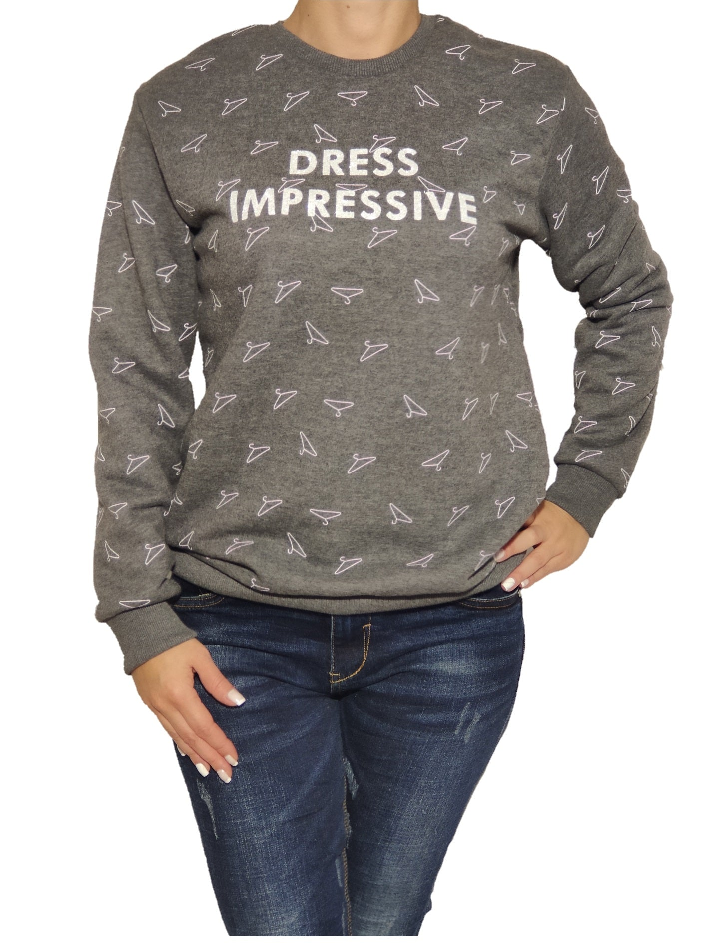 a-girl-wears-a-grey-blouse-front-side