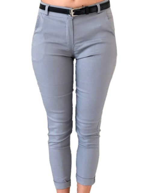 girl-wears-grey-trouser-white-background