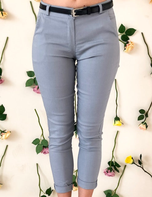 girl-wears-grey-trouser-frontside