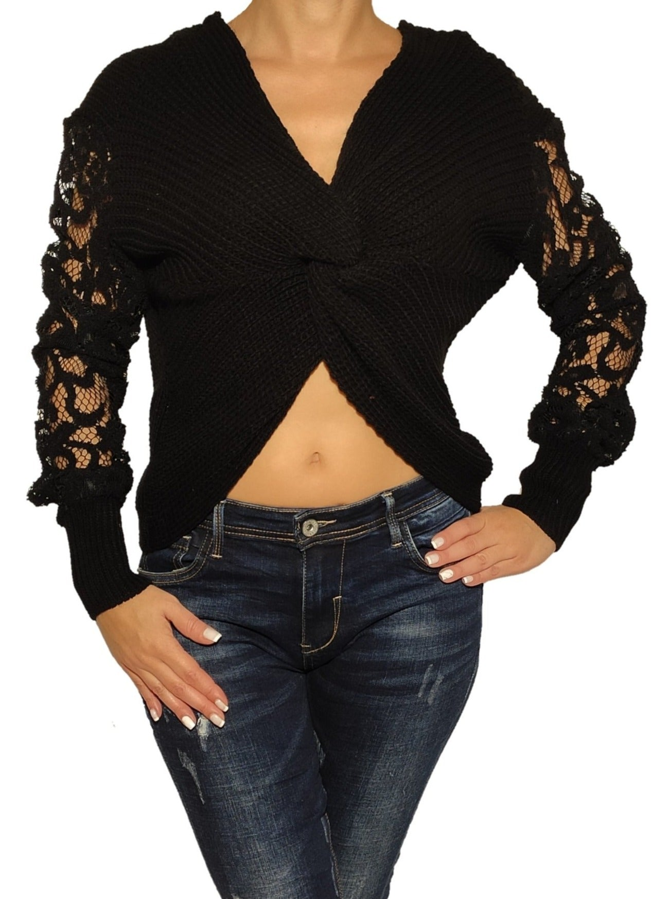 woman-wears-a-knit-blouze-with-laces-black