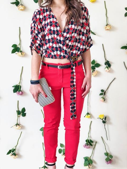 a-woman-wears-a-red-trouser-with-belt-front-side