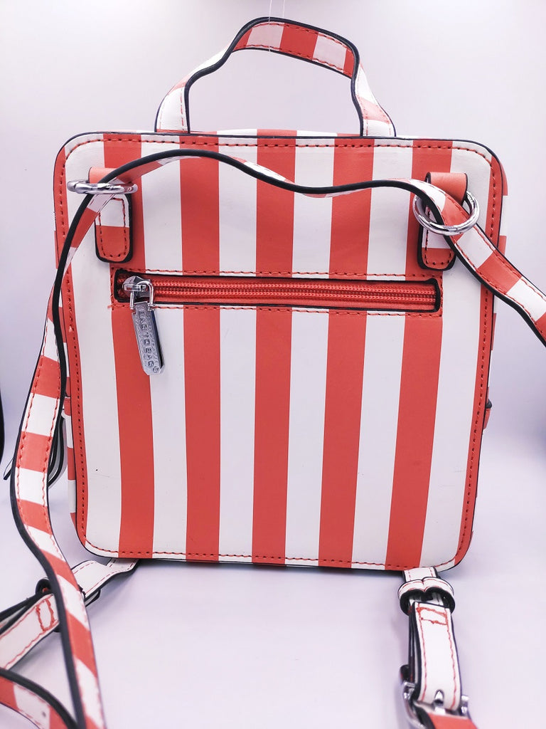 striped-coral-square-backpack-backside-in-a-white-background