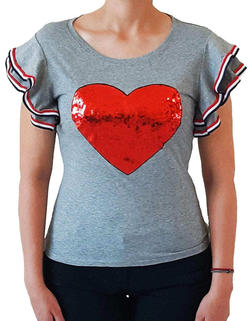 woman-wears-tshirt-with-big-red-heart-from-sequins-grey-frontside