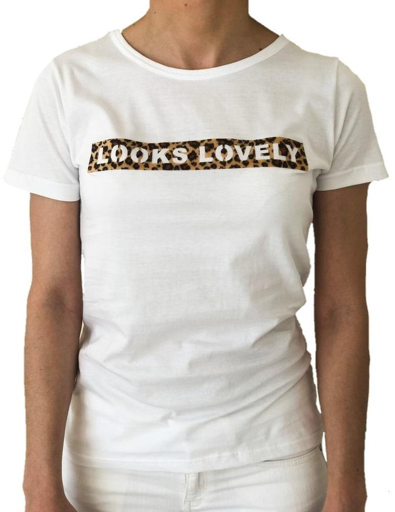 woman-wears-white-tshirt-with-looks-lovely-leopar-stamp