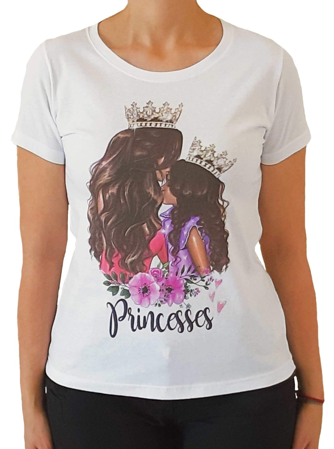 girl-wears-a-white-tshirt-with-stamp-princess-frontside
