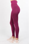 Ultra Sleek Dark Merlot Leggings
