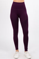 Ultra Sleek Dark Plum Leggings