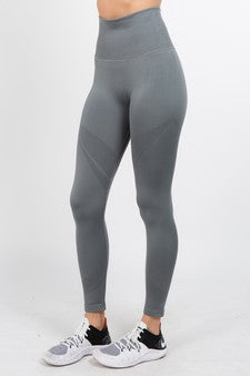 Ultra Sleek Grey Leggings