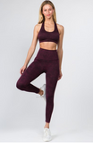 Wine Vintage Leggings