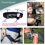 TOUROAM Trauma Medical First Aid Kit | Tactical IFAK Molle Survival Bag SS Tool Kit for Kayak Camping Sports
