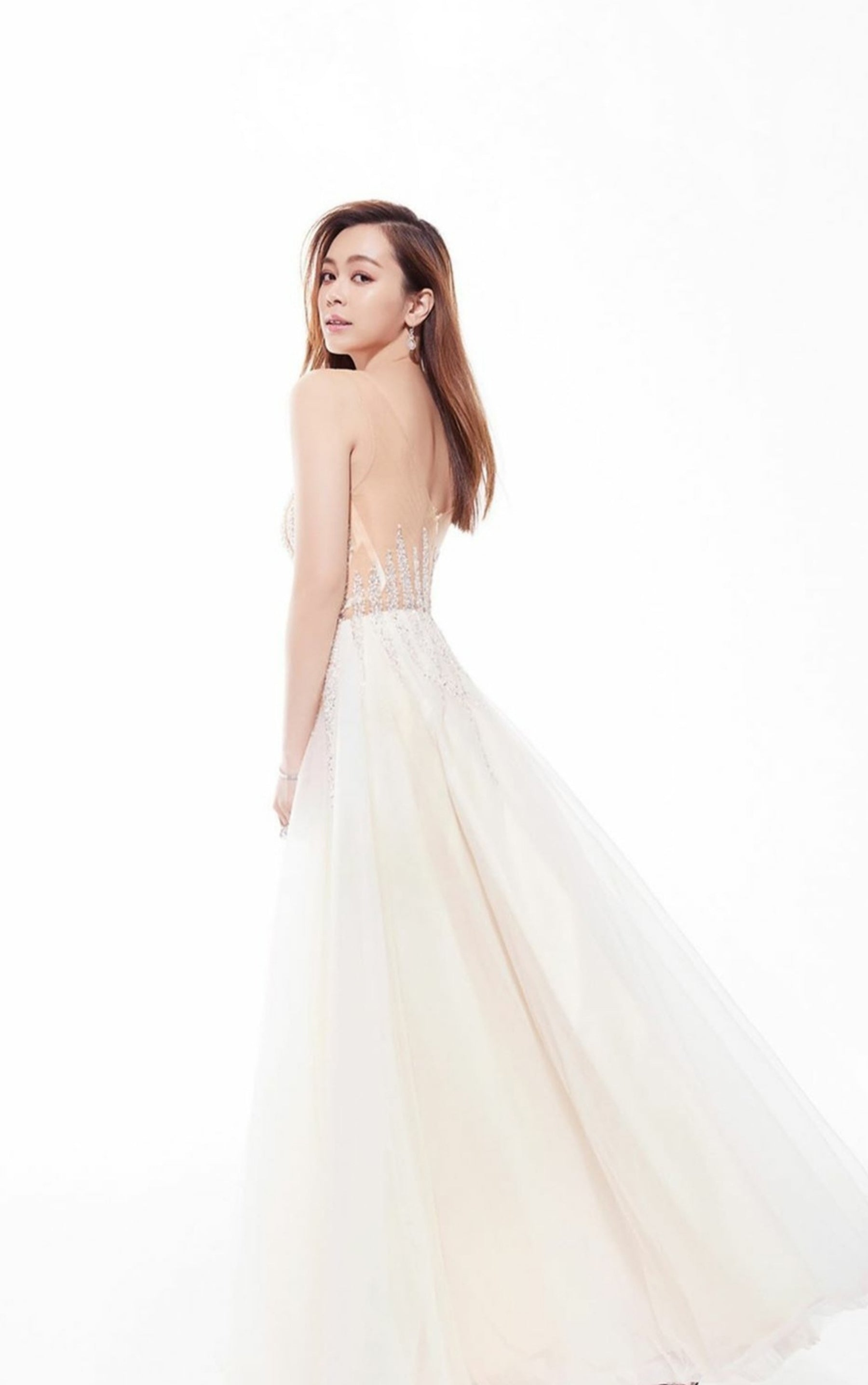 Lite Crystal Lining Gown