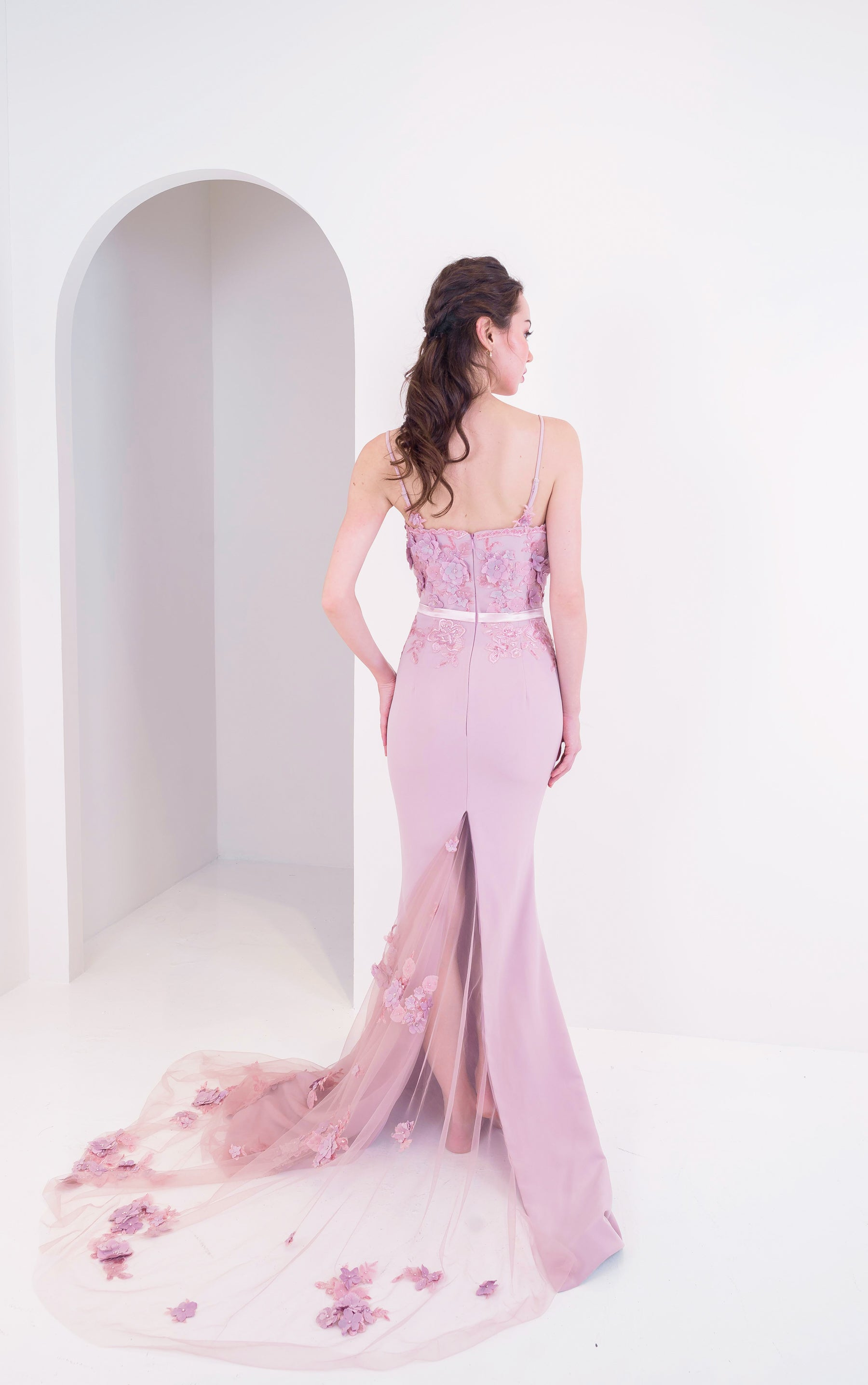 PS Behati Mauve Gown