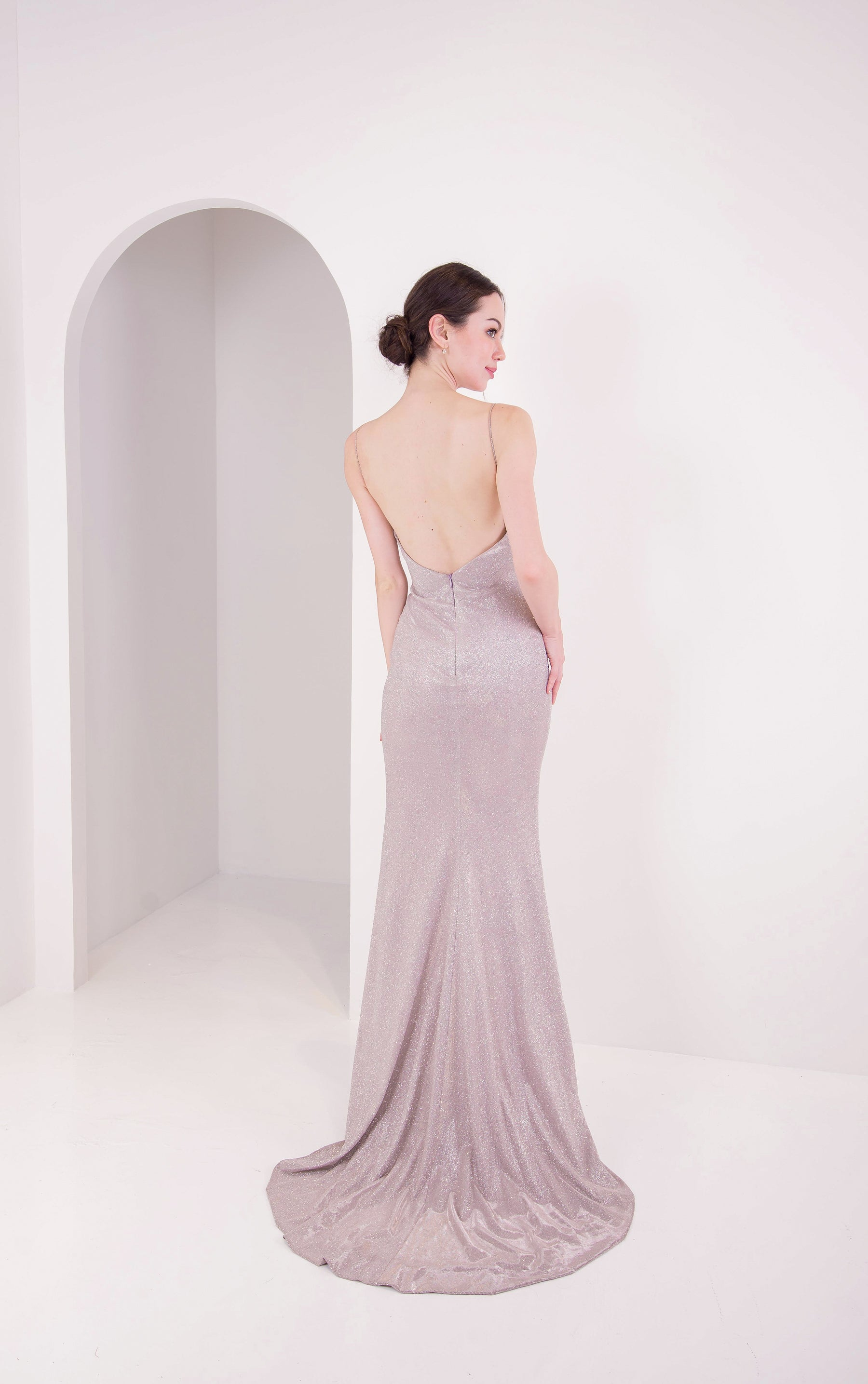 PS Hugo Diamond Gold Gown