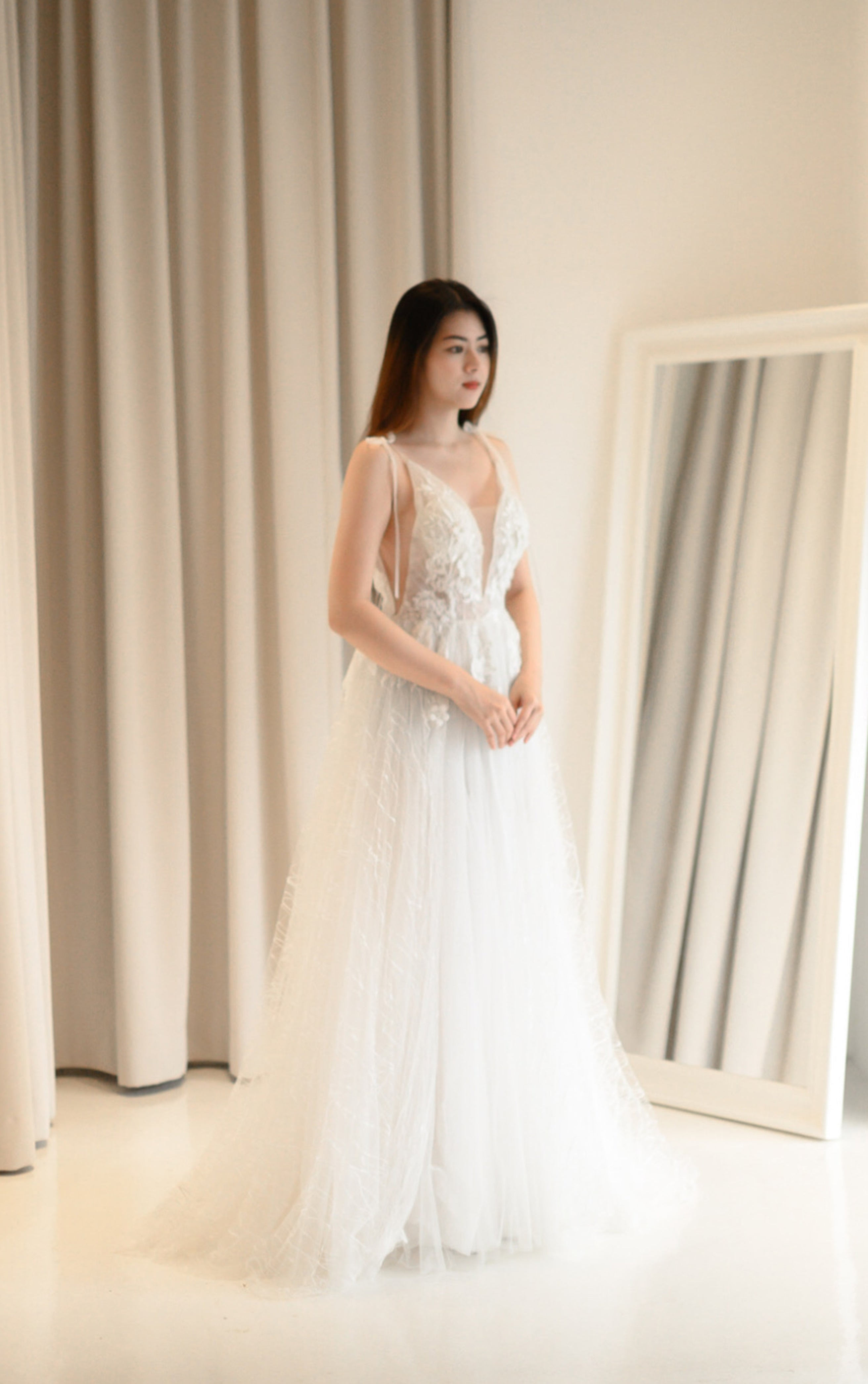 Bloomfield White Gown