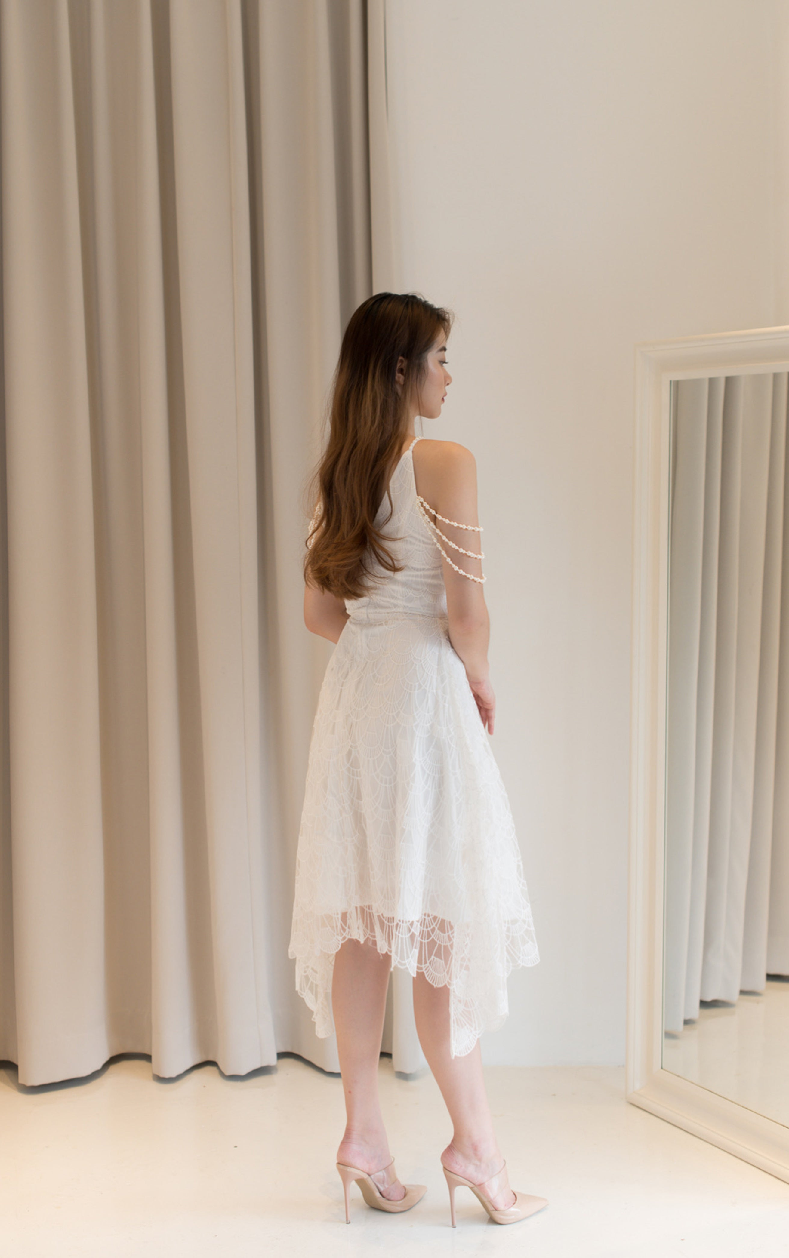 Devora White Dress