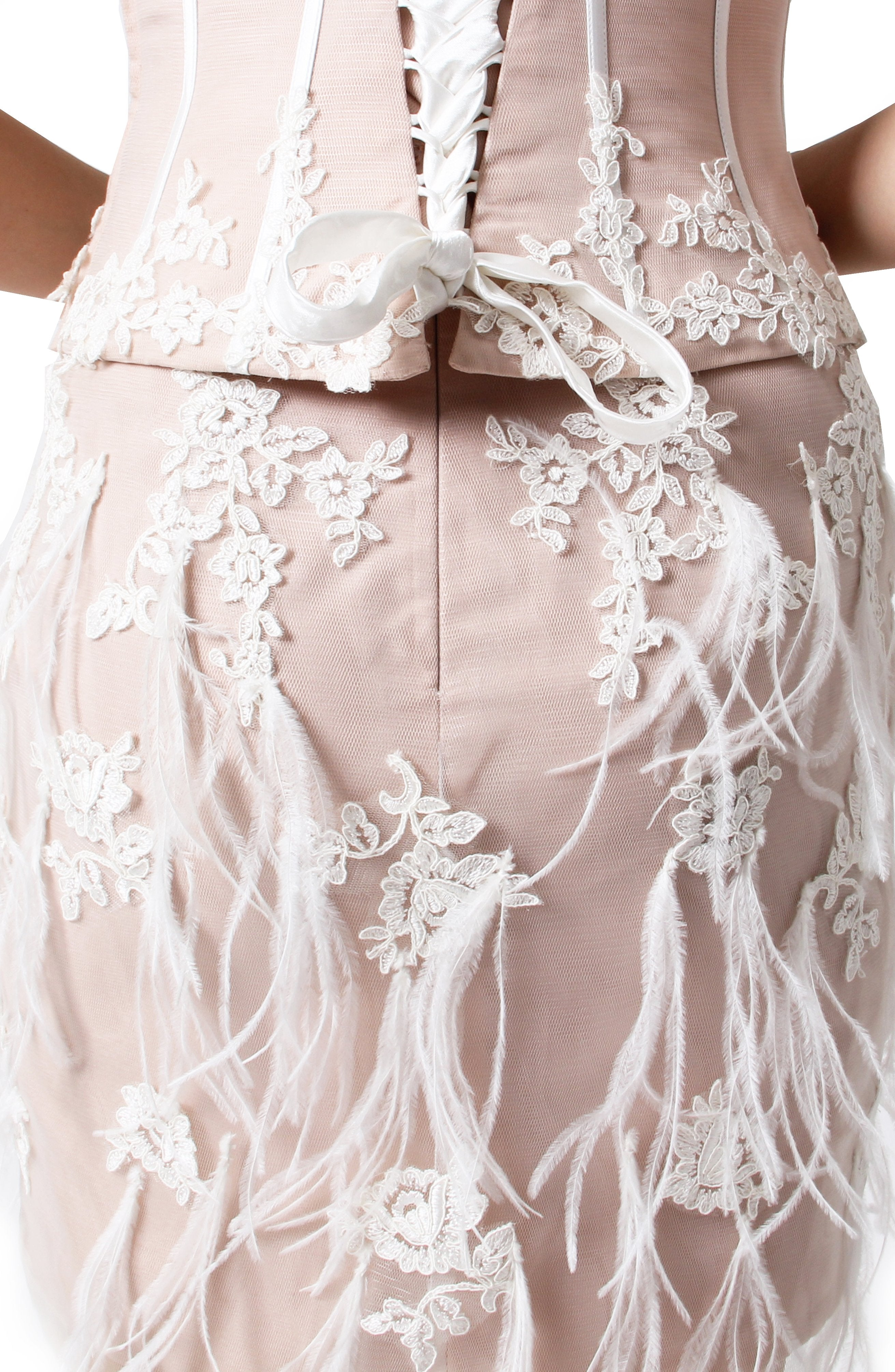 Two Pcs Embroidered Bodice Set