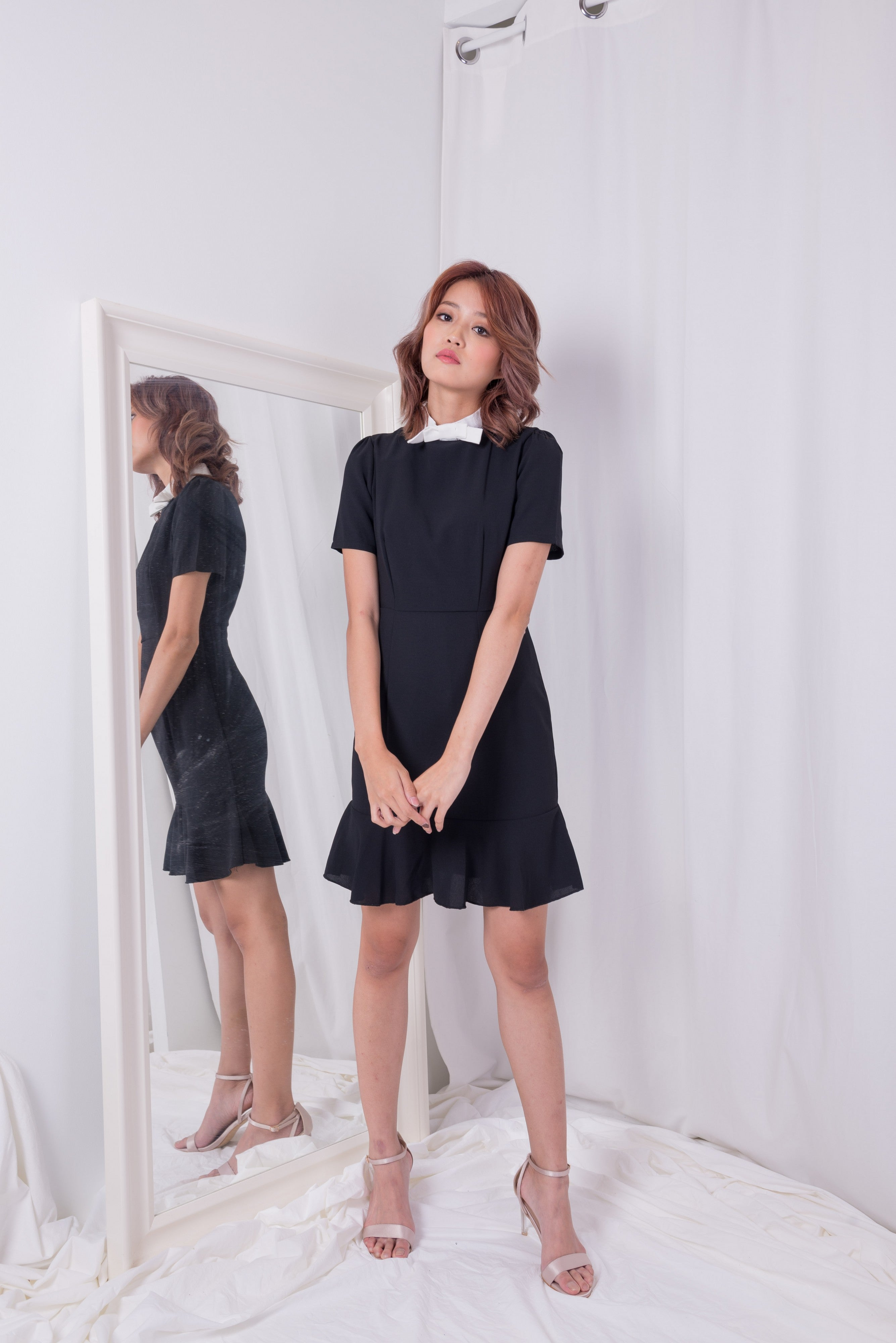 Little Bow Black Dress